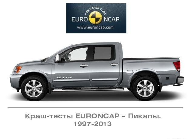 Краш-тесты Euro NCAP – Пикапы