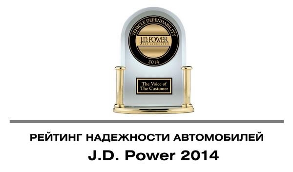 Рейтинг надежности автомобилей по версии J.D. Power 2014 год.