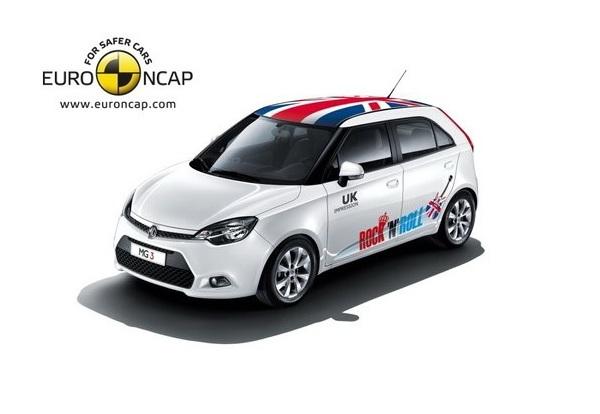 Краш-тест Euro NCAP - MG3