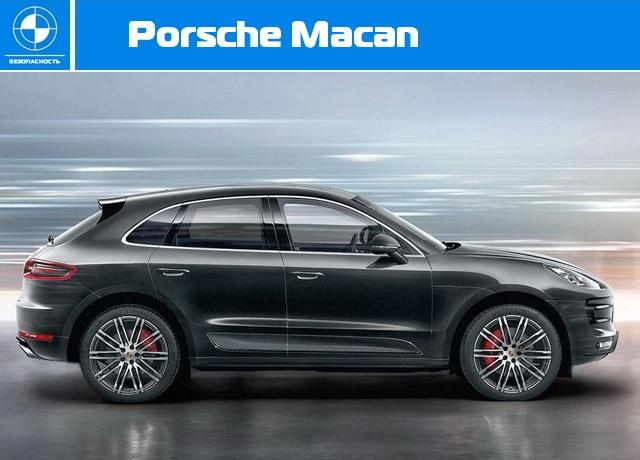 Краш-тест Euro NCAP - Porsche Macan.